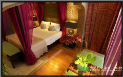 世茂滨江花园四室两厅178平混搭中古典卧室装修图片