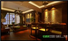 世茂滨江花园四室两厅178平混搭中古典风格大户型