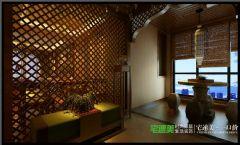 世茂滨江花园四室两厅178平混搭中古典餐厅装修图片