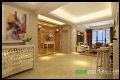 兆通大观花园三室两厅135平欧式风格欧式过道装修图片