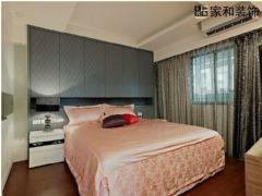 成都家和装饰装修案例保利198现代卧室装修图片