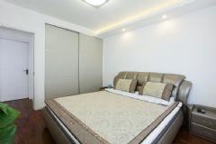 成都家和装饰装修案例四季康城现代卧室装修图片
