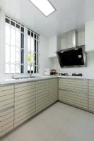 成都家和装饰装修案例四季康城现代厨房装修图片