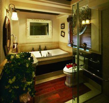 卫生间植物搭配方案现代卫生间装修图片
