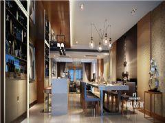 成都尚层装饰别墅装修城南一号现代简约风格欣赏(三)现代客厅装修图片