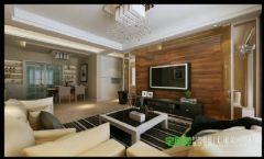 东紫园四室两厅116平现代风格现代风格四居室