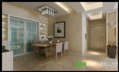 东紫园四室两厅116平现代风格现代餐厅装修图片