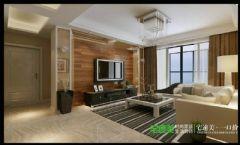 东紫园四室两厅116平现代风格现代客厅装修图片