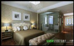 东紫园四室两厅116平现代风格现代卧室装修图片