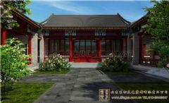 扬州四合院设计案例打造风情万种雅居古典客厅装修图片
