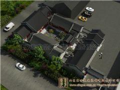 扬州四合院设计案例打造风情万种雅居古典风格大户型