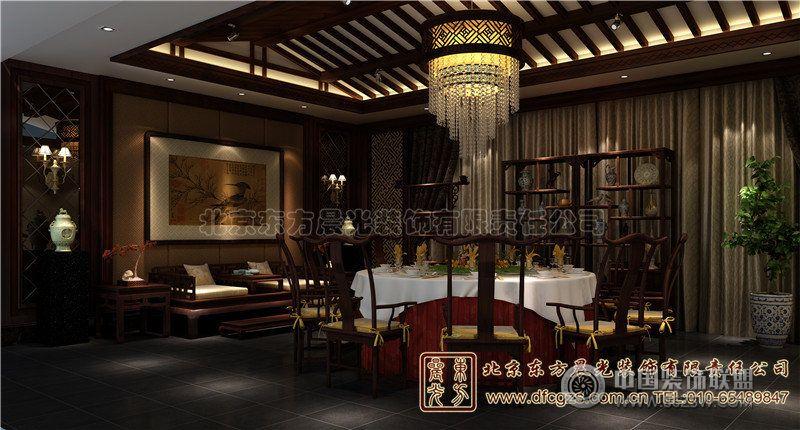 广元四合院v餐厅室内设计餐厅深深-雅韵装修效合肥思珀室内设计有限公司怎么样图片