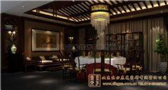 广元四合院设计室内设计雅韵深深中式餐厅装修图片