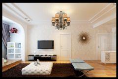 金质融城现代客厅装修图片