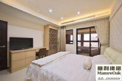 九溪玫瑰园中式卧室装修图片