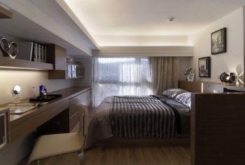 55平现代简约风现代卧室装修图片