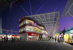 卓越前瞻性的城市综合体设计效果图—天霸设计能提供书店装修图片