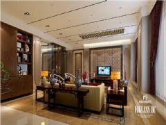 成都尚层装饰别墅装修城南逸家中式风格案例鉴赏中式客厅装修图片