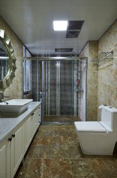 卫生间隔断设计方案简约其它装修图片
