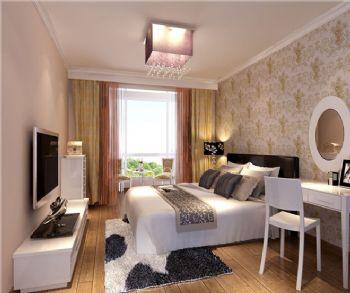 130平三居现代风格案例现代卧室装修图片