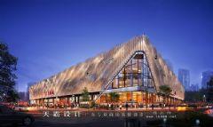 城市综合体效果图:广州大鞋城城市综合体效果图创意设计是怎么从孕育到最后落地实施的商场装修图片