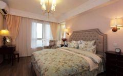 【淮南博大装饰】浪漫在心间,来自金地月半弯90平美式婚房设计美式卧室装修图片