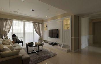 客厅电视背景墙现代客厅装修图片