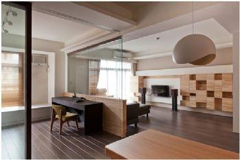 客餐厅一体设计的照明方案简约客厅装修图片