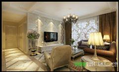 左岸生活三室两厅135平欧式风格欧式卧室装修图片