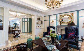 2015新款家装餐厅设计案例简约客厅装修图片