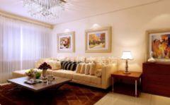 淮南云景豪庭装修设计,小巧玲珑中式简约家中式客厅装修图片