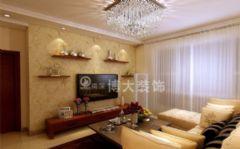 淮南云景豪庭装修设计,小巧玲珑中式简约家中式风格二居室
