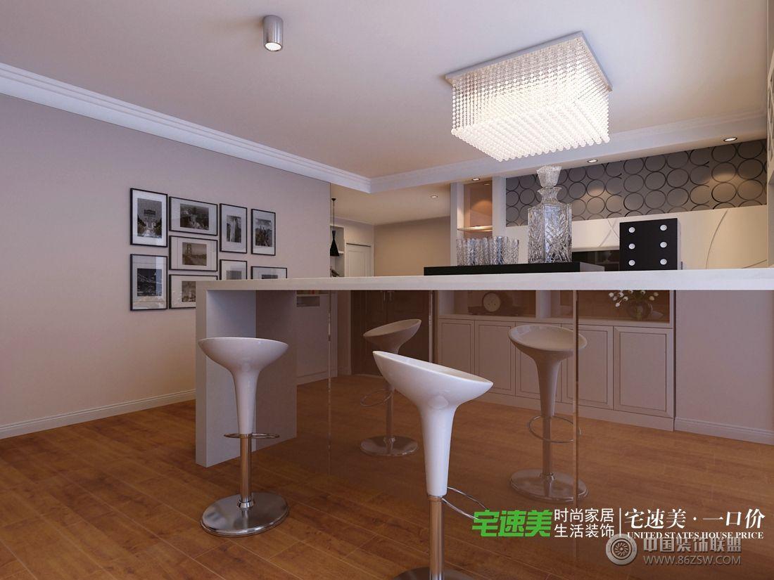 華強城美加印象121平現代風格裝修效果圖-客廳裝修圖片