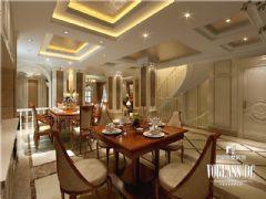 别墅装修大溪谷胡军美式风格案例推荐美式风格别墅