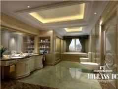别墅装修大溪谷胡军美式风格案例推荐美式卫生间装修图片