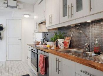 美观北欧风厨房设计欧式厨房装修图片
