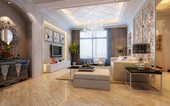 300平别墅现代风格案例欣赏现代客厅装修图片