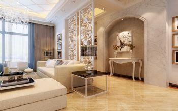 300平别墅现代风格案例欣赏现代过道装修图片