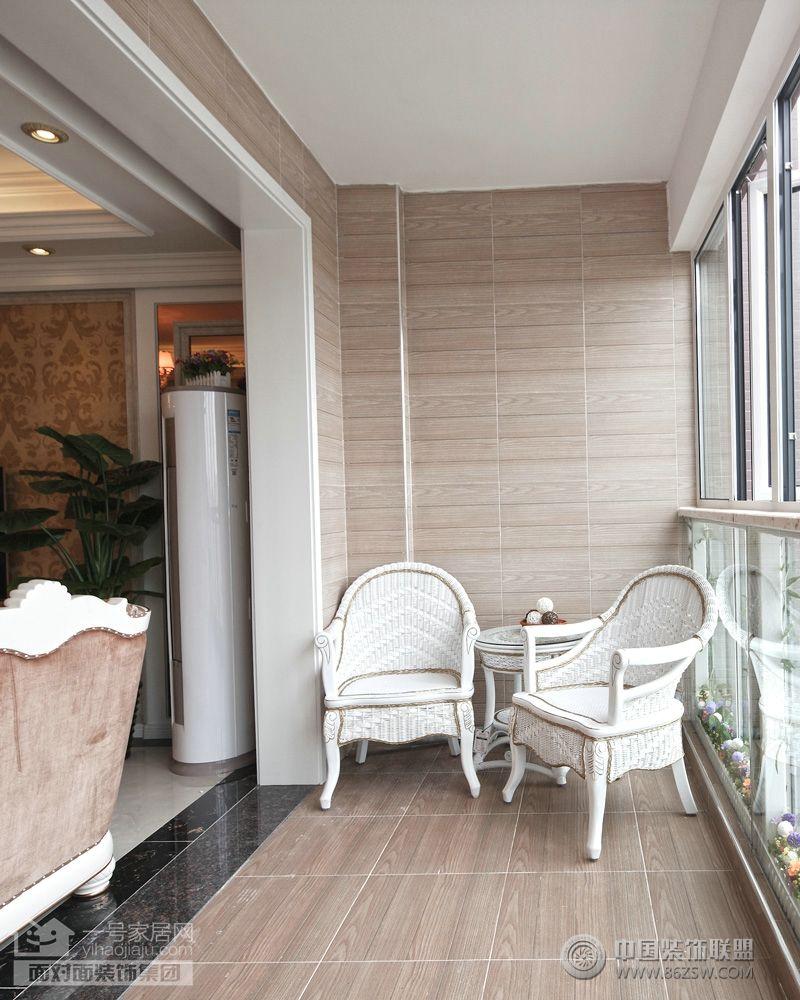 装饰装修公司-武汉最好的装饰公司现代阳台装修图片