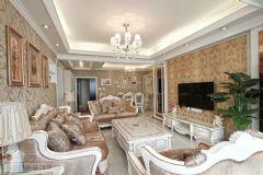 武汉装饰公司-武汉装饰装修公司-武汉最好的装饰公司现代客厅装修图片