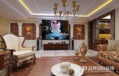 打造4层欧洲古典气息别墅欧式客厅装修图片