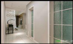 简约风格两室两厅伟星臻园87平效果图简约过道装修图片