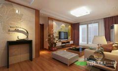 三室兩廳新中式風格白金灣100平效果圖中式風格三居室