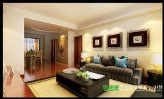 三室两厅古典中式三潭音悦126平效果图中式客厅装修图片