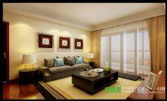 三室两厅古典中式三潭音悦126平效果图中式风格大户型