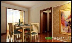 三室两厅古典中式三潭音悦126平效果图中式餐厅装修图片