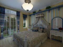 感受地中海风情地中海卧室装修图片