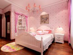 荷塘月色中式儿童房装修图片