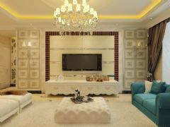 新星宇和邑欧式客厅装修图片