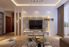 保利百合香湾现代客厅装修图片